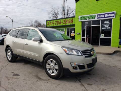 2013 Chevrolet Traverse for sale at Empire Auto Group in Indianapolis IN