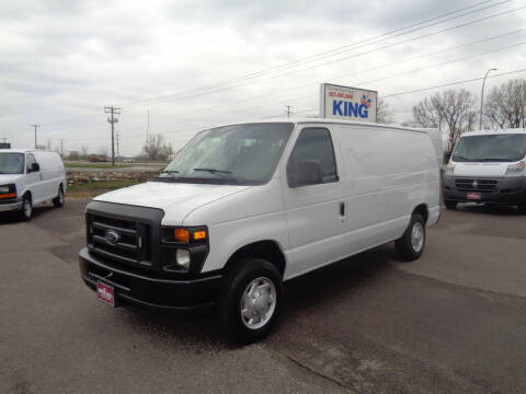 2013 Ford E-Series Cargo for sale at King Cargo Vans INC in Savage MN