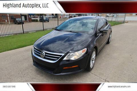 2012 Volkswagen CC for sale at Highland Autoplex, LLC in Dallas TX