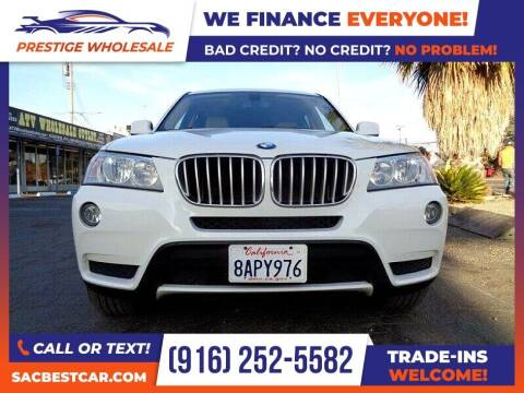 2013 BMW X3 for sale at Prestige Wholesale in Sacramento CA
