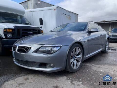 2008 BMW 6 Series for sale at MyAutoJack.com @ Auto House in Tempe AZ