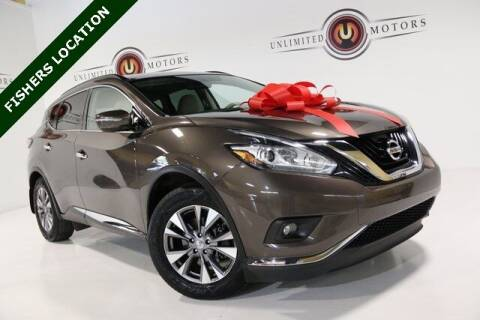 2015 Nissan Murano for sale at Unlimited Motors in Fishers IN