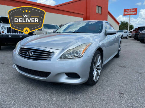 2009 Infiniti G37 Coupe for sale at JC AUTO MARKET in Winter Park FL