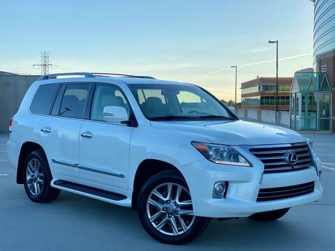 2013 Lexus LX 570 for sale at Car Match in Temple Hills MD