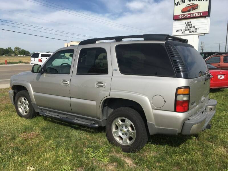 2005 Chevrolet Tahoe for sale at HUM MOTORS in Caldwell ID