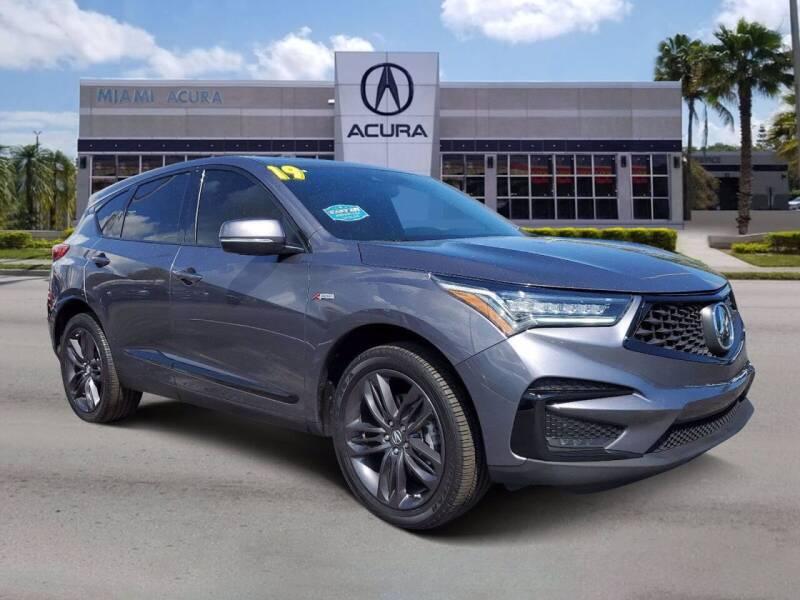 2019 Acura RDX for sale at MIAMI ACURA in Miami FL