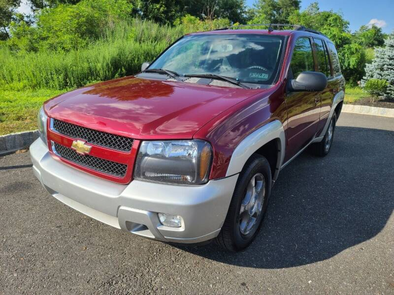 2008 Chevrolet TrailBlazer for sale at DISTINCT IMPORTS in Cinnaminson NJ