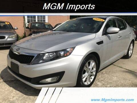 2013 Kia Optima for sale at MGM Imports in Cincannati OH