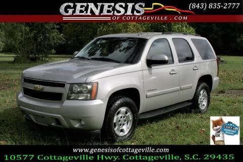 2007 Chevrolet Tahoe for sale at Genesis Of Cottageville in Cottageville SC