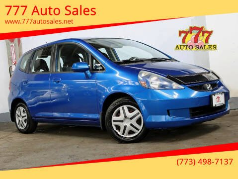 2008 Honda Fit for sale at 777 Auto Sales in Bedford Park IL
