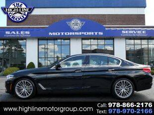 2017 BMW 5 Series for sale at Highline Group Motorsports in Lowell MA