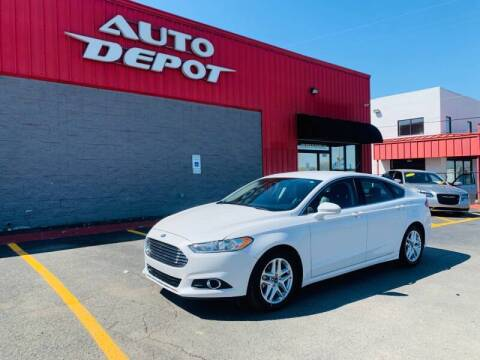 2016 Ford Fusion for sale at Auto Depot - Madison in Madison TN