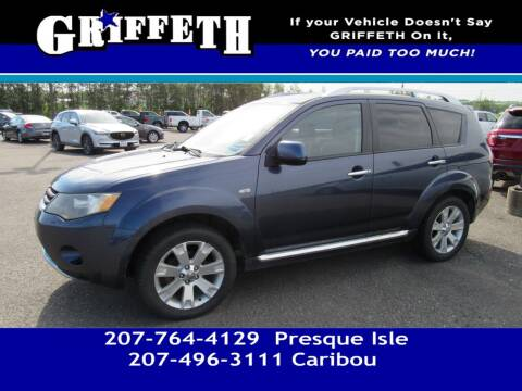 2009 Mitsubishi Outlander for sale at Griffeth Mitsubishi - Pre-owned in Caribou ME