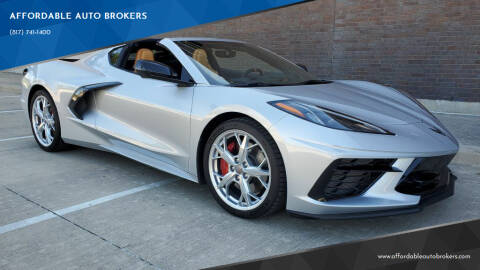 2020 Chevrolet Corvette for sale at AFFORDABLE AUTO BROKERS in Keller TX