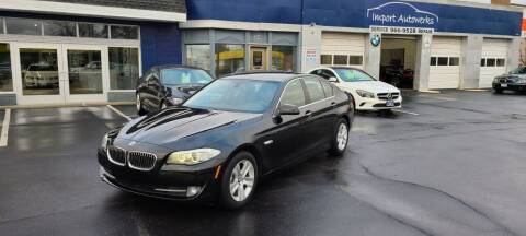 2013 BMW 5 Series for sale at Import Autowerks in Portsmouth VA