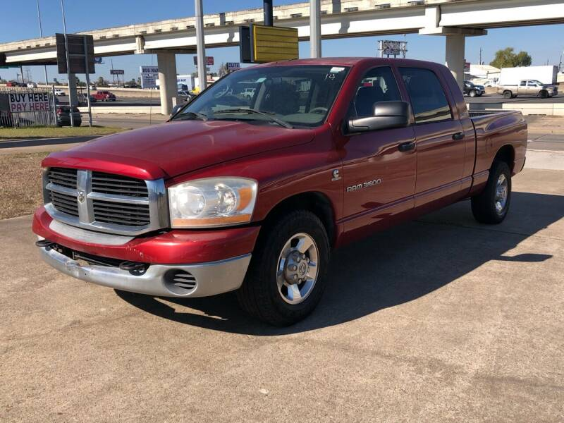2006 Dodge Ram Pickup 3500 for sale at National Auto Group in Houston TX