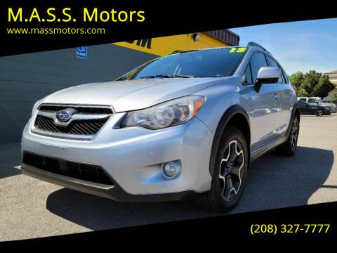 2014 Subaru XV Crosstrek for sale at M.A.S.S. Motors - MASS MOTORS in Boise ID