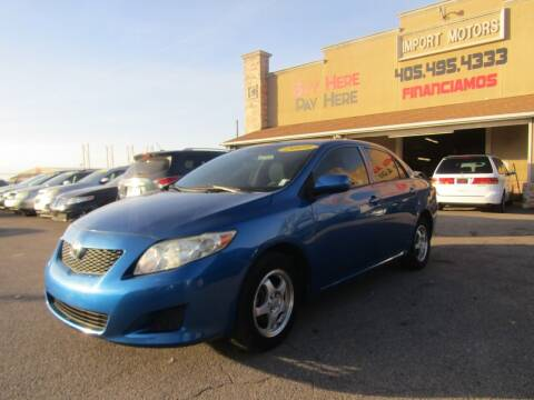2009 Toyota Corolla for sale at Import Motors in Bethany OK