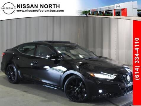 2021 Nissan Maxima for sale at Auto Center of Columbus in Columbus OH