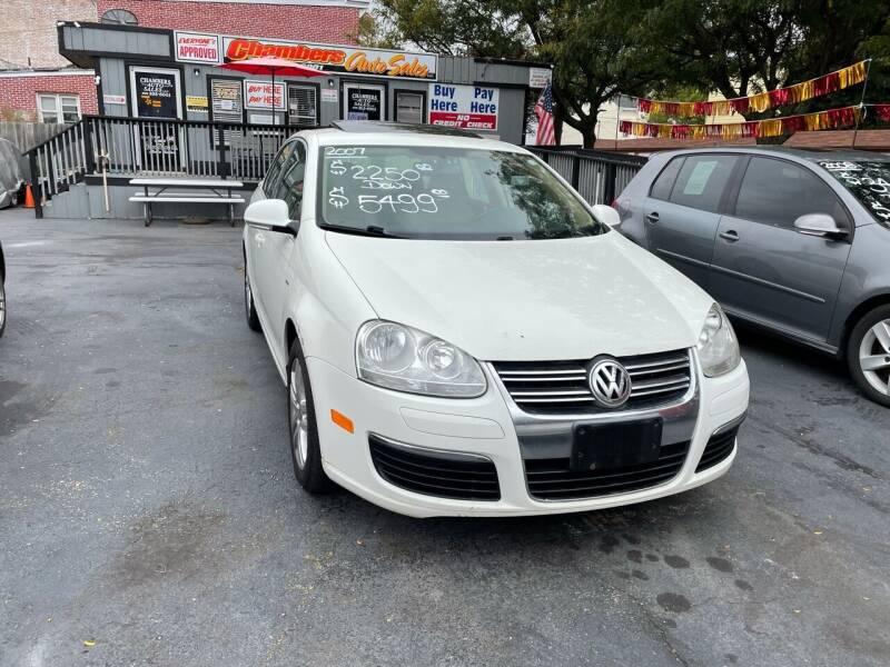 2007 Volkswagen Jetta for sale at Chambers Auto Sales LLC in Trenton NJ