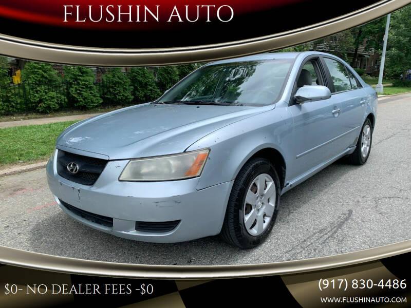 2007 Hyundai Sonata for sale at FLUSHIN AUTO in Flushing NY