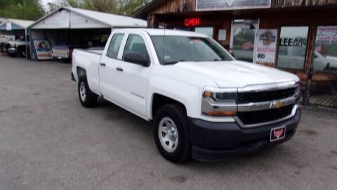 2016 Chevrolet Silverado 1500 for sale at LEE AUTO SALES in McAlester OK