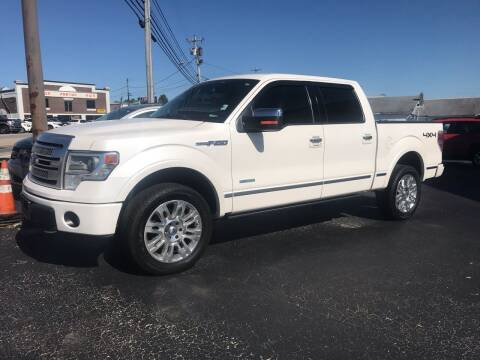 2013 Ford F-150 for sale at Blue Bird Motors in Crossville TN