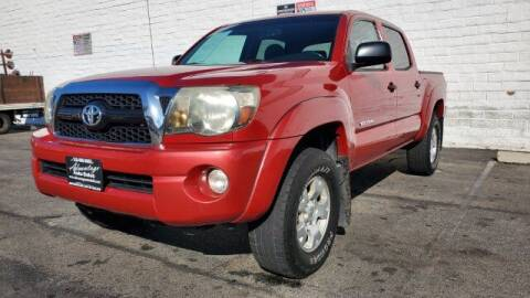 2011 Toyota Tacoma for sale at ADVANTAGE AUTO SALES INC in Bell CA