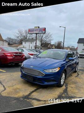 2017 Ford Fusion for sale at Dream Auto Sales in South Milwaukee WI