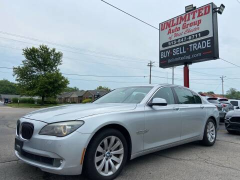 2010 BMW 7 Series for sale at Unlimited Auto Group in West Chester OH