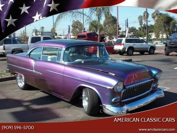 1955 Chevrolet Bel Air for sale at American Classic Cars in La Verne CA