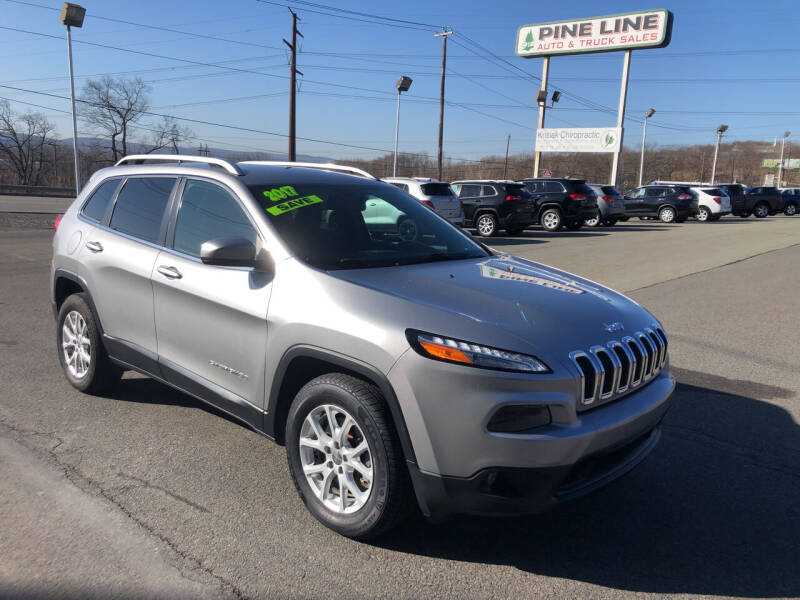 2017 Jeep Cherokee for sale at Pine Line Auto in Eynon PA