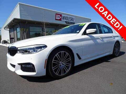 2017 BMW 5 Series for sale at Wholesale Direct in Wilmington NC