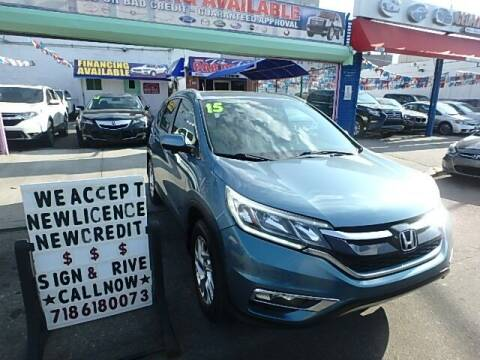 2015 Honda CR-V for sale at Cedano Auto Mall Inc in Bronx NY
