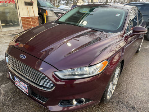 2013 Ford Fusion for sale at New Wheels in Glendale Heights IL