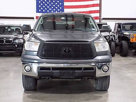 2012 Toyota Tundra for sale at Texas Motor Sport in Houston TX