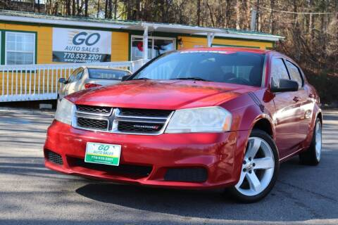 2013 Dodge Avenger for sale at Go Auto Sales in Gainesville GA