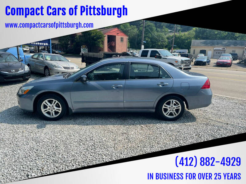 2007 Honda Accord for sale at Compact Cars of Pittsburgh in Pittsburgh PA