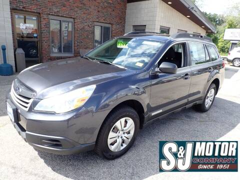 2011 Subaru Outback for sale at S & J Motor Co Inc. in Merrimack NH