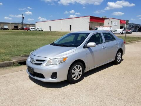 2012 Toyota Corolla for sale at Image Auto Sales in Dallas TX