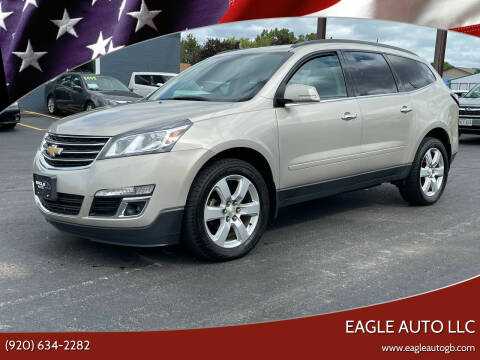 2017 Chevrolet Traverse for sale at Eagle Auto LLC in Green Bay WI