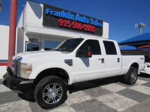 2008 Ford F-250 Super Duty for sale at Franklin Auto Sales in El Paso TX