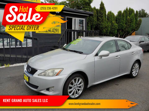 2008 Lexus IS 250 for sale at KENT GRAND AUTO SALES LLC in Kent WA