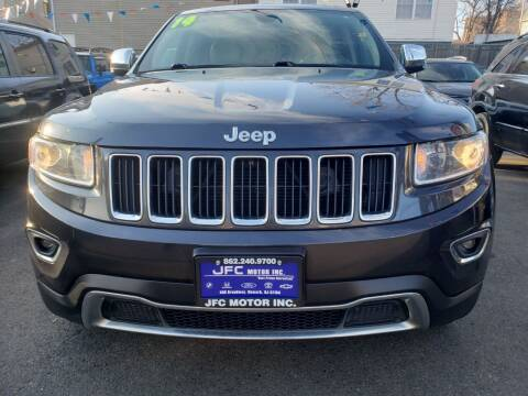 2014 Jeep Grand Cherokee for sale at JFC Motors Inc. in Newark NJ