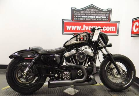 2012 Harley-Davidson SPORTSTER  FORTY EIGHT for sale at Certified Motor Company in Las Vegas NV