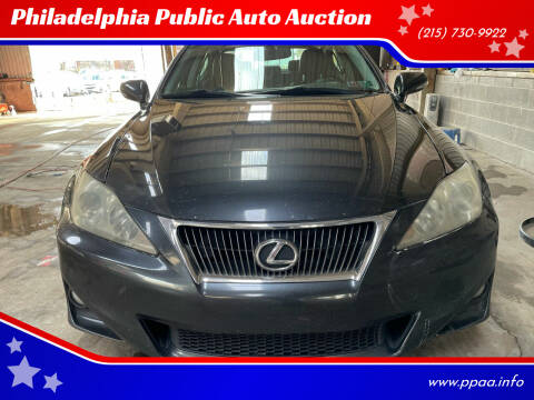 2011 Lexus IS 250 for sale at Philadelphia Public Auto Auction in Philadelphia PA