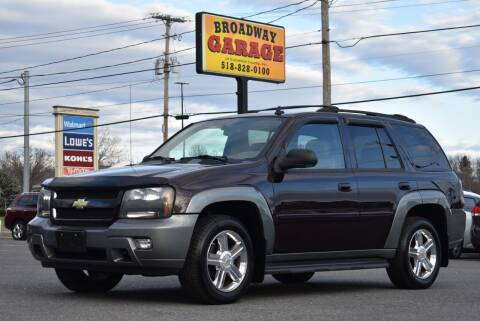 2009 Chevrolet TrailBlazer for sale at Broadway Garage of Columbia County Inc. in Hudson NY