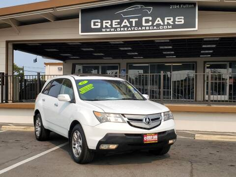 2007 Acura MDX for sale at Great Cars in Sacramento CA