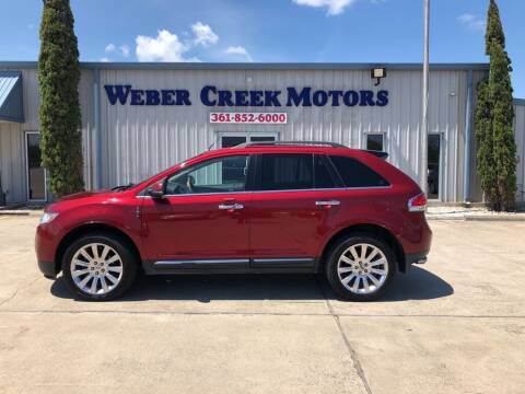 2013 Lincoln MKX for sale at Weber Creek Motors in Corpus Christi TX