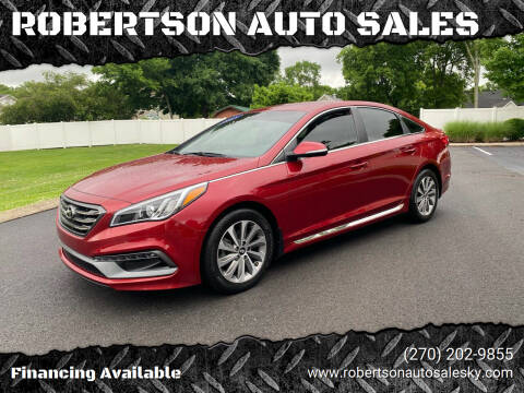 2015 Hyundai Sonata for sale at ROBERTSON AUTO SALES in Bowling Green KY